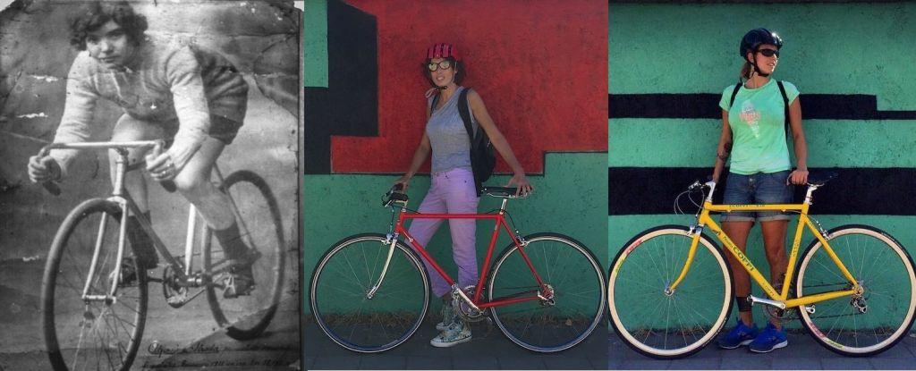 """Alfonsina Strada e le """"Cicliste per caso"""" Linda Ronzoni e Silvia Gottardi 404ba305337"""