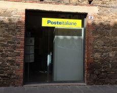 L'ufficio di Montalcinio delle Poste Italiane