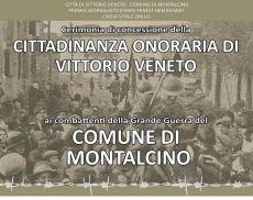 La cittadinanza onoraria di Vittorio Veneto ai caduti montalcinesi durante o per via della Grande Guerra