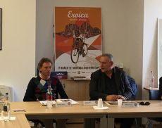 La presentazione di Eroica Montalcino 2019 nella sede del Consorzio del Brunello