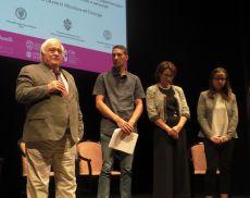 La consegna del 1° premio di laurea in Viticoltura ed Enologia dedicato a Rudy Buratti