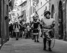 Il Corteo Storico di Montalcino (foto di Valerio Chechi