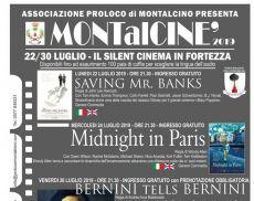 Il programma del cinema in Fortezza 2019