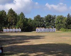 Il campo di tiro di Montalcino, in località Osticcio
