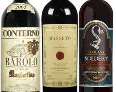 I tre vini più costosi d'Italia secondo Wine-Searcher