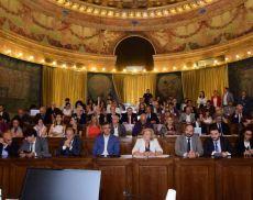 La conferenza stampa di presentazione delle previsioni vendemmiali 2019, organizzata al Mipaaft a Roma