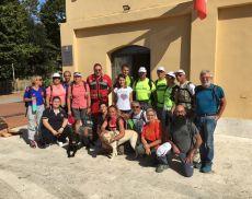 Foto di gruppo a Torrenieri