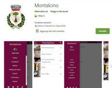 La nuova app del Comune di Montalcino