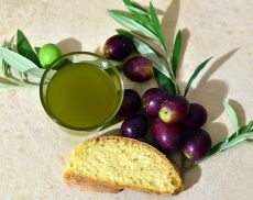 Olio e pane: ottimo abbinamento