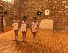 Le giovani danzatrici di Danza nel Mondo