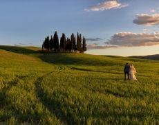 Cresce il wedding nelle Terre di Siena ma Montalcino è fuori dalla top five