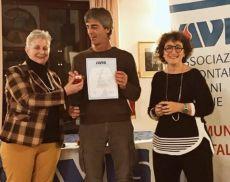 Ettorre Riccucci premiato per le sue 50 donazioni