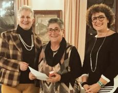 Elvia Rabazzi premiata per la sua cinquantesima donazione