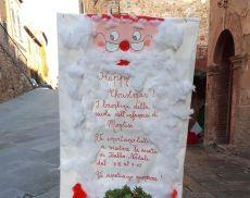 I bambini della Scuola dell'Infanzia accendono il Natale a Montisi