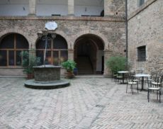 Cortile interno Palazzo Pieri