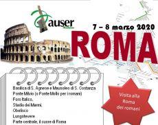Viaggio a Roma con l'Auser Montalcino
