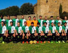 La squadra di calcio del Montalcino