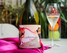 L'etichetta special edition de La Pettegola di Banfi