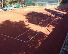 Il campo da tennis della Libertas