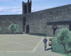 Il rendering della Fortezza dopo i lavori di riqualificazione