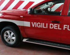 Il mezzo donato ai Vigili del Fuoco di Montalcino