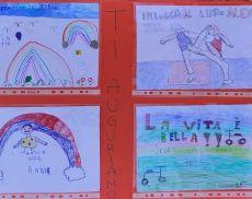 I disegni dei bambini della Tiger Temple per Alex Zanardi