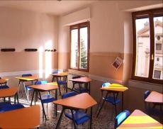 Un'aula del Liceo Linguistico Lambruschini