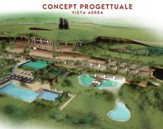 Il concept progettuale del resort di Ampella