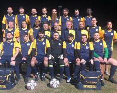 La squadra di calcio degli amatori di Sant'Angelo Scalo