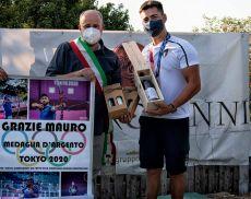 Il sindaco Silvio Franceschelli e Mauro Nespoli