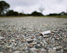 Sigarette in terra, un problema anche a Montalcino