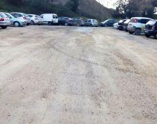 Il parcheggio dello Spuntone risistemato