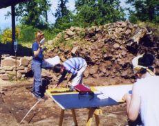 Lavori a Poggio Civitella (foto d'archivio)