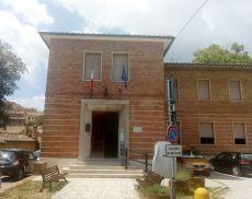 L'ingresso dell'Istituto Agrario e del Liceo Linguistico di Montalcino