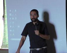 L'assessore alla cultura di Montalcino Christian Bovini