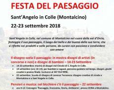 La Festa del Paesaggio del Circolo di Sant'Angelo in Colle (22-23 settembre)