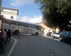 bus in Piazza Cavour