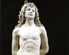 San Sebastiano, opera di Andrea della Robbia custodita a Montalcino