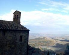 La Chiesa della Madonna delle Grazie con vista panoramica