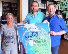 Marcella Megalli, Christian Bovini e Manfredi Rutelli