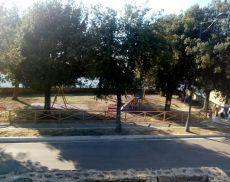 La nuova area giochi accanto alla Chiesa della Madonna del Soccorso