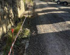 Ritornano in sicurezza i paletti nella strada che si trova superando Porta Cerbaia
