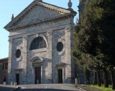La facciata del Santuario della Madonna del Soccorso