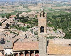 La torre del Palazzo Comunale di Montalcino