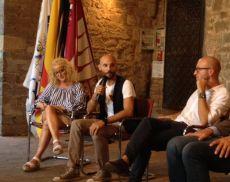 Tommaso Andreini presenta la sua opera a Montalcino