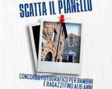 La locandina del concorso fotografico promosso dal Quartiere Pianello