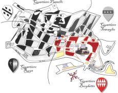 La carta territoriale del Borghetto
