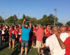 Borghetto in festa dopo la vittoria del Torneo di Apertura delle Cacce