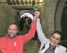 Marica e Mirco vincitori del Torneo del Dardo per il Borghetto