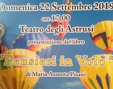 Il 22 settembre al Teatro degli Astrusi di Montalcino la presentazione del libro di Maria Assunta Pisani
